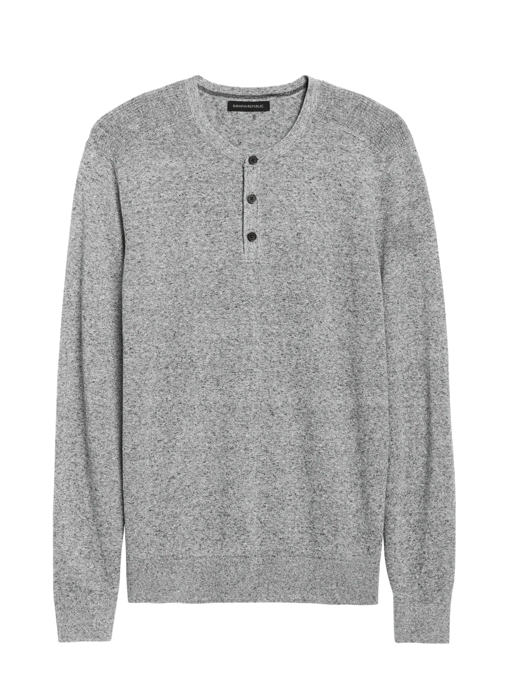 Silk Linen Henley Sweater Banana Republic Henley Sweater Sweater Layering Henley [ 1333 x 1000 Pixel ]