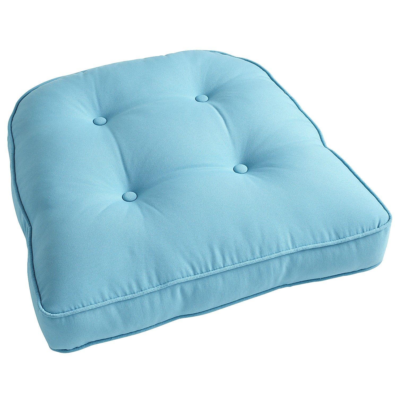 Calliope maui tufted large contour chair cushion chair