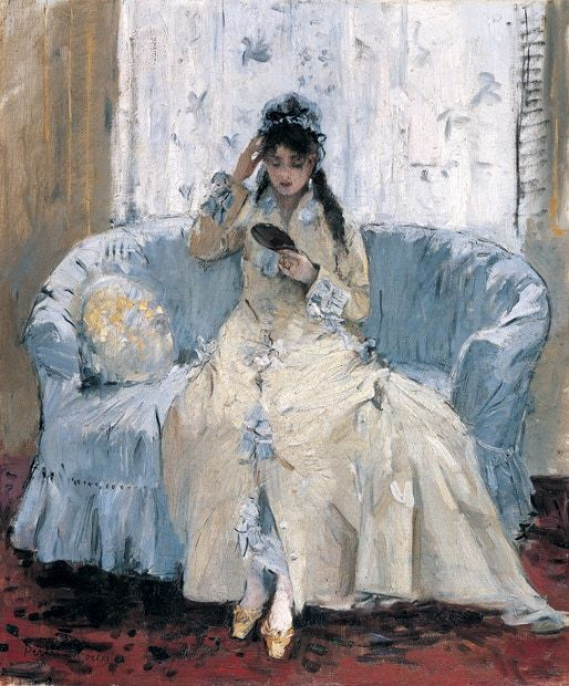 For a brief time Berthe Morisot was bigger than Monet, Renoir and Pissarro.