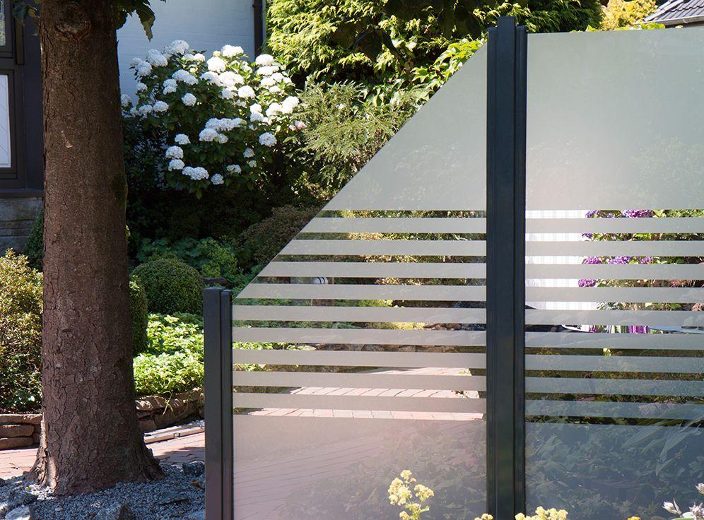 Modern und elegant! GroJaAmbiente GlasSichtschutz in
