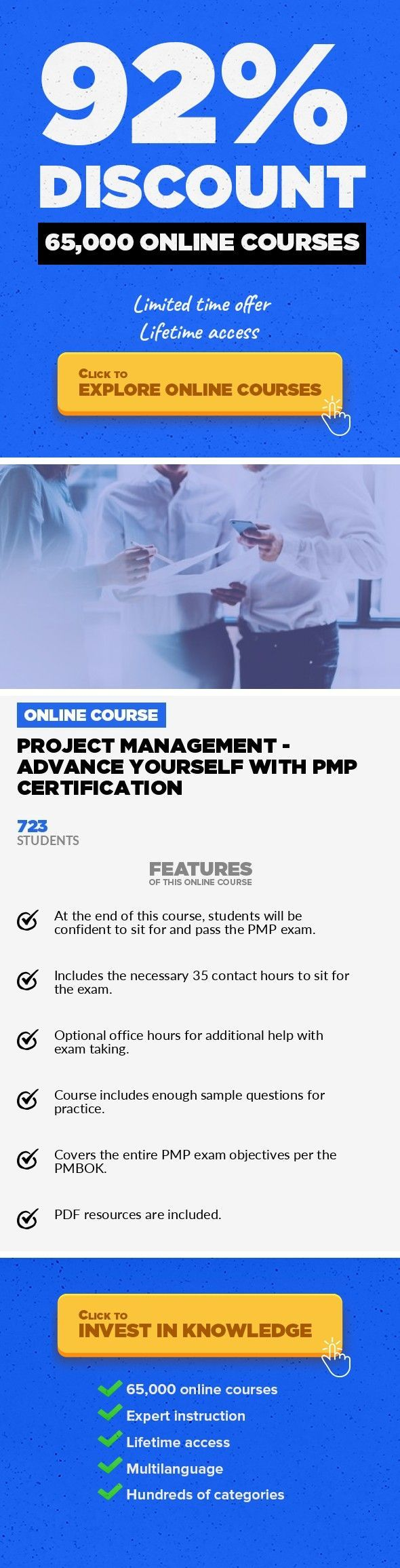 Project Management Advance Yourself With Pmp Certification Project
