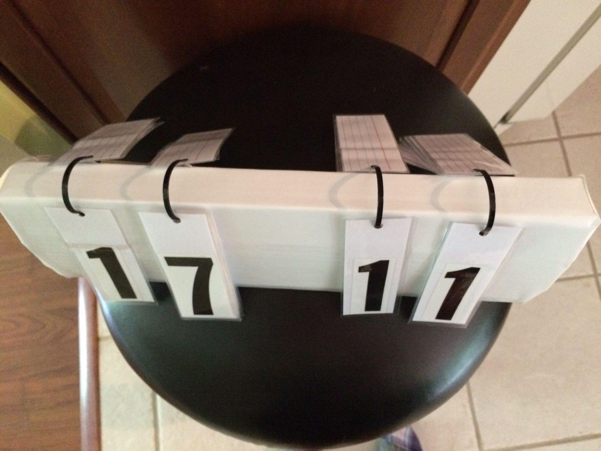 Diy Volleyball Scoreboard Crafts To Do Diy Scoreboard