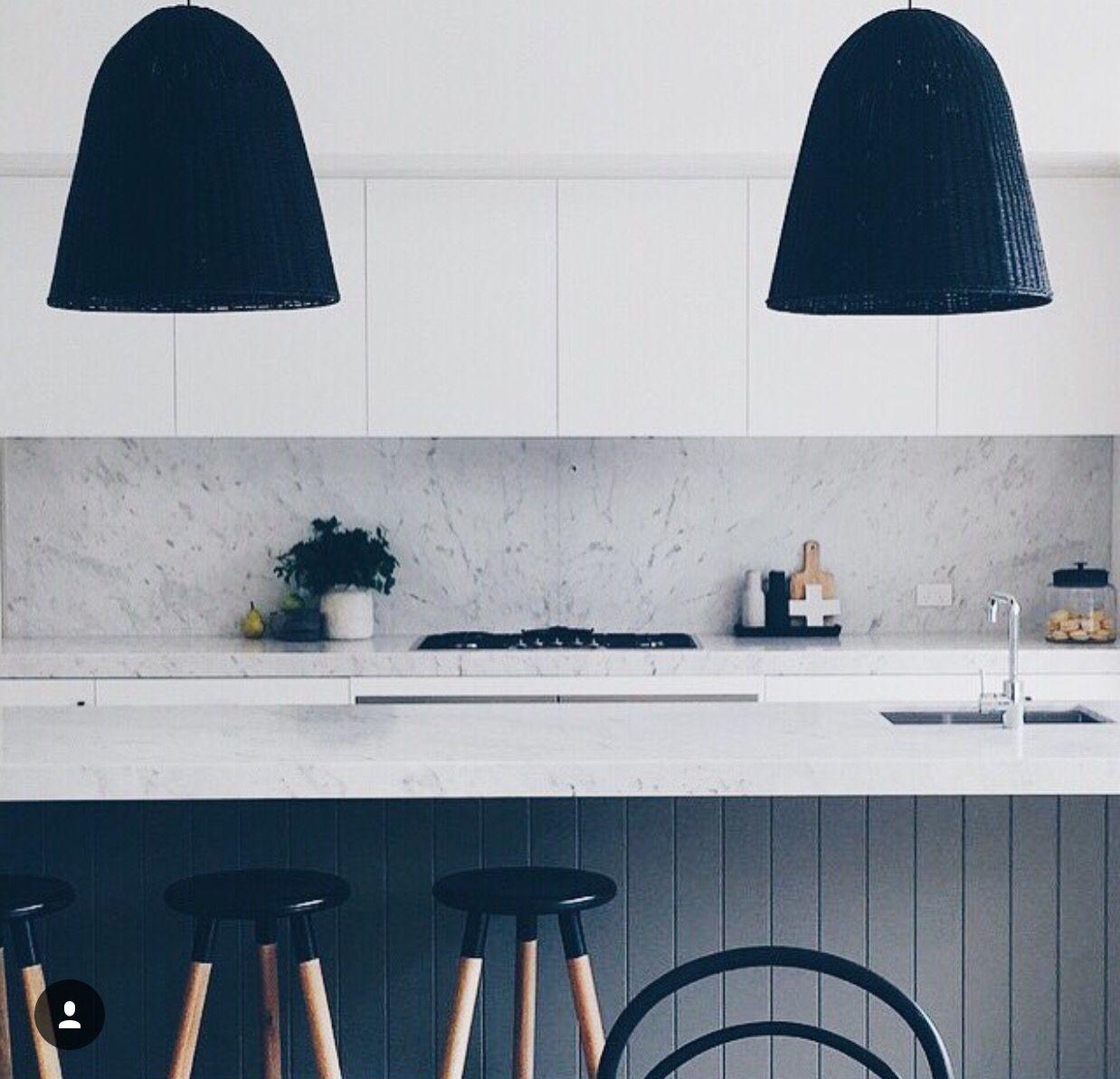 The ultimate chic inspiring black lighting design kichens