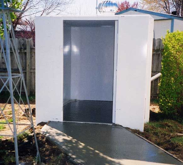 Wheelchair Accessible Above Ground Tornado Shelter Dream