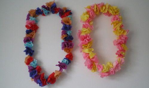 El Carnaval - collar hawaiano de flores