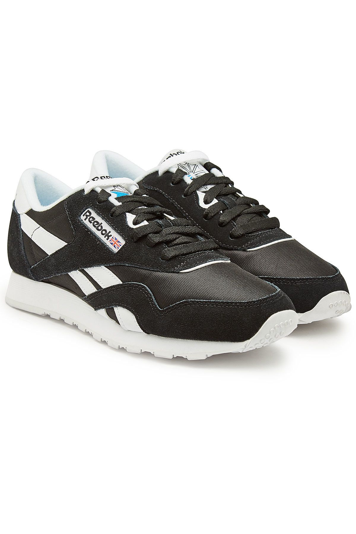 Reebok Classic Suede And Mesh Sneakers