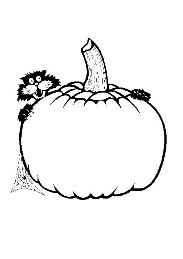 Dibujos para Colorear Halloween 25 | Dibujos para colorear para ...