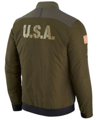 designer fashion faac5 35ab2 Nike Men's Pittsburgh Steelers Salute To Service Bomber ...
