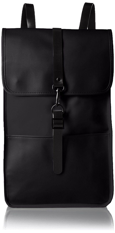 8f6cf094cb Rains Backpack in Black
