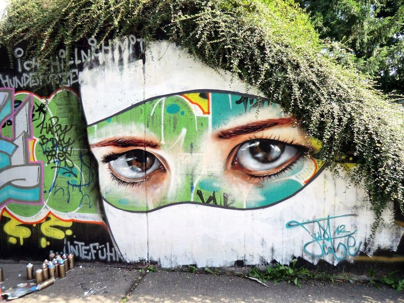 Arte Naturaleza 40 Ejemplos De Arte Urbano Natural Creative