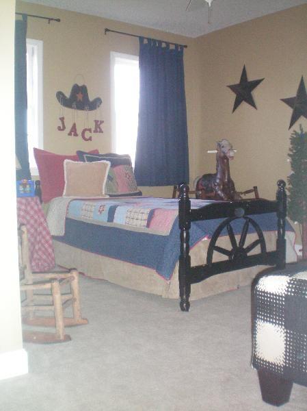 cowboy decor for boys room boots wagon wheel rocking chair