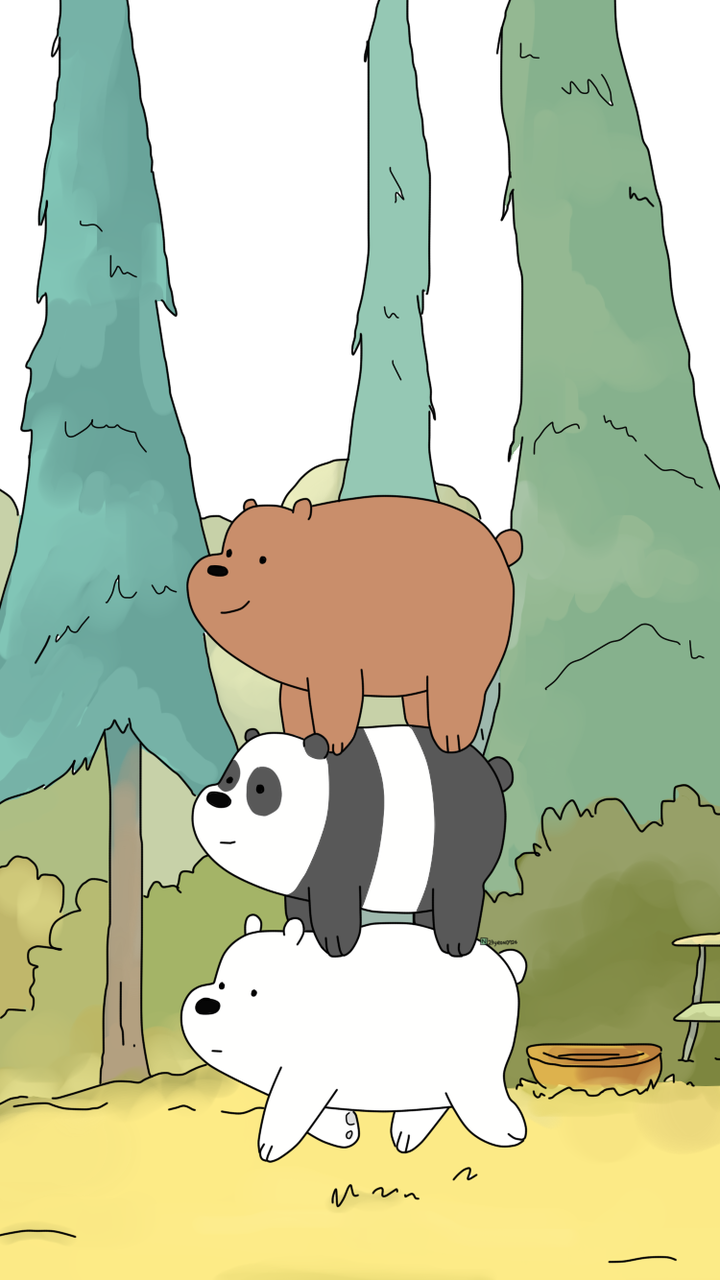 We Bare Bears shared by Naty on We Heart It