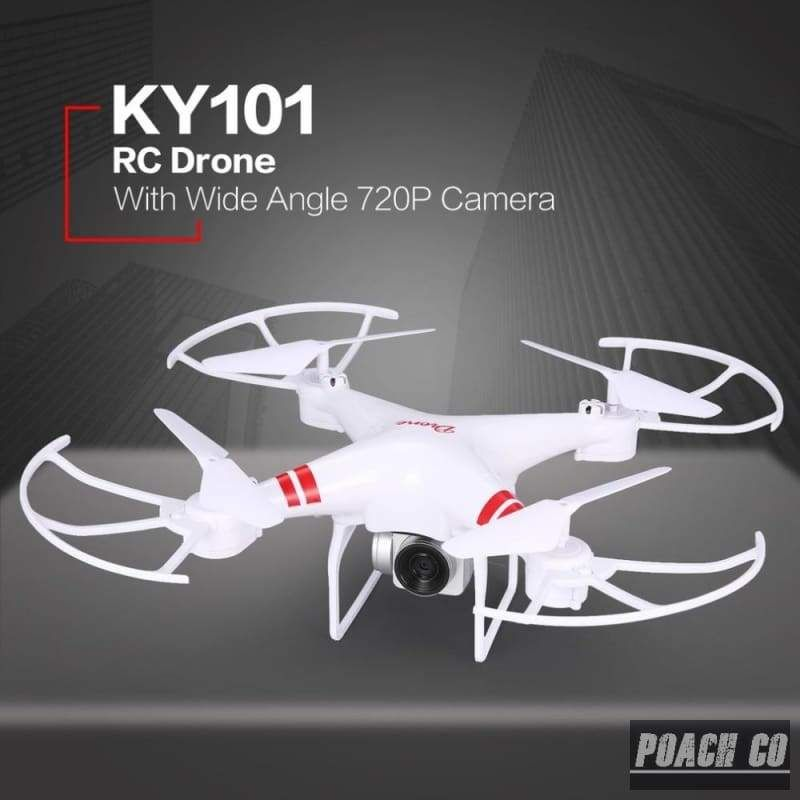 KY101 RC Drone With Camera HD 720P/1080P Wide Angle Selfie Drone Professional Foldable Quadcopter Headless One Key Return Drones #wideangle