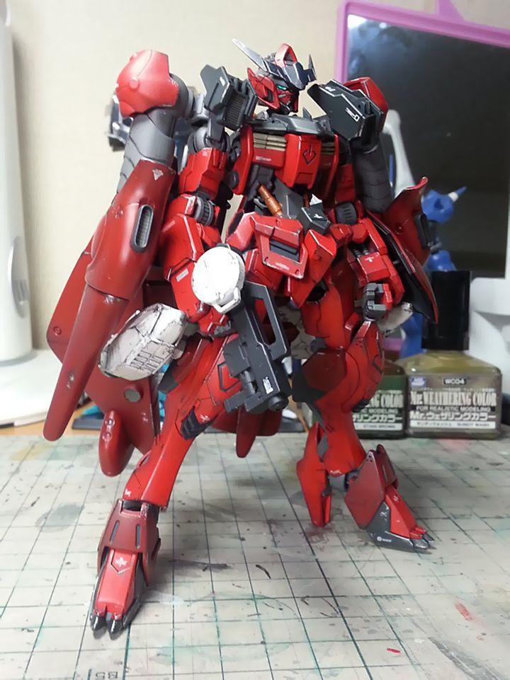GUNDAM GUY: 1/144 Gundam Barbatos Val Walo - Custom Build