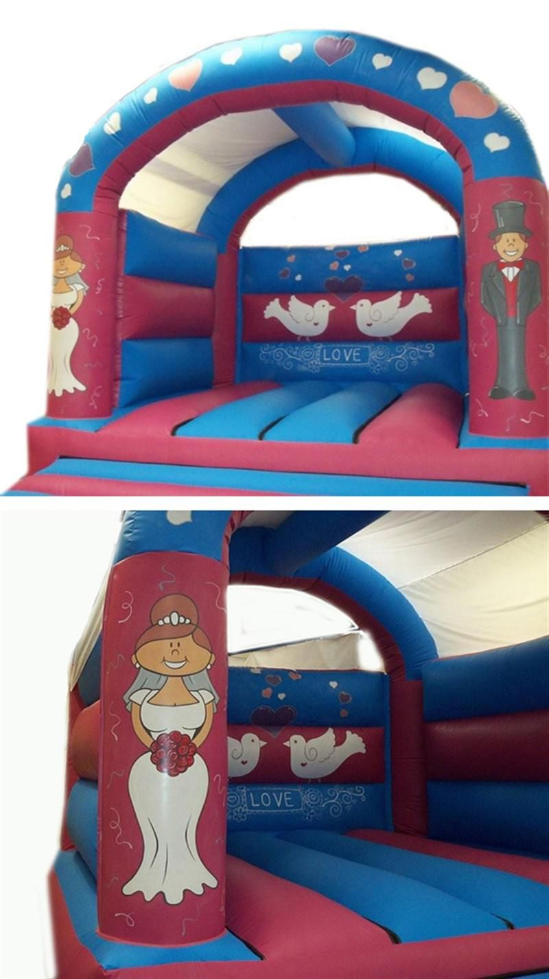Wedding Themed Castle Adult Bouncy Castles Bouncy Castle Hire In