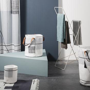 Keittiöön 35 € Ferm Living Trace matto, luonnonvalkoinen | Matot | Kodintekstiilit | Finnish Design Shop