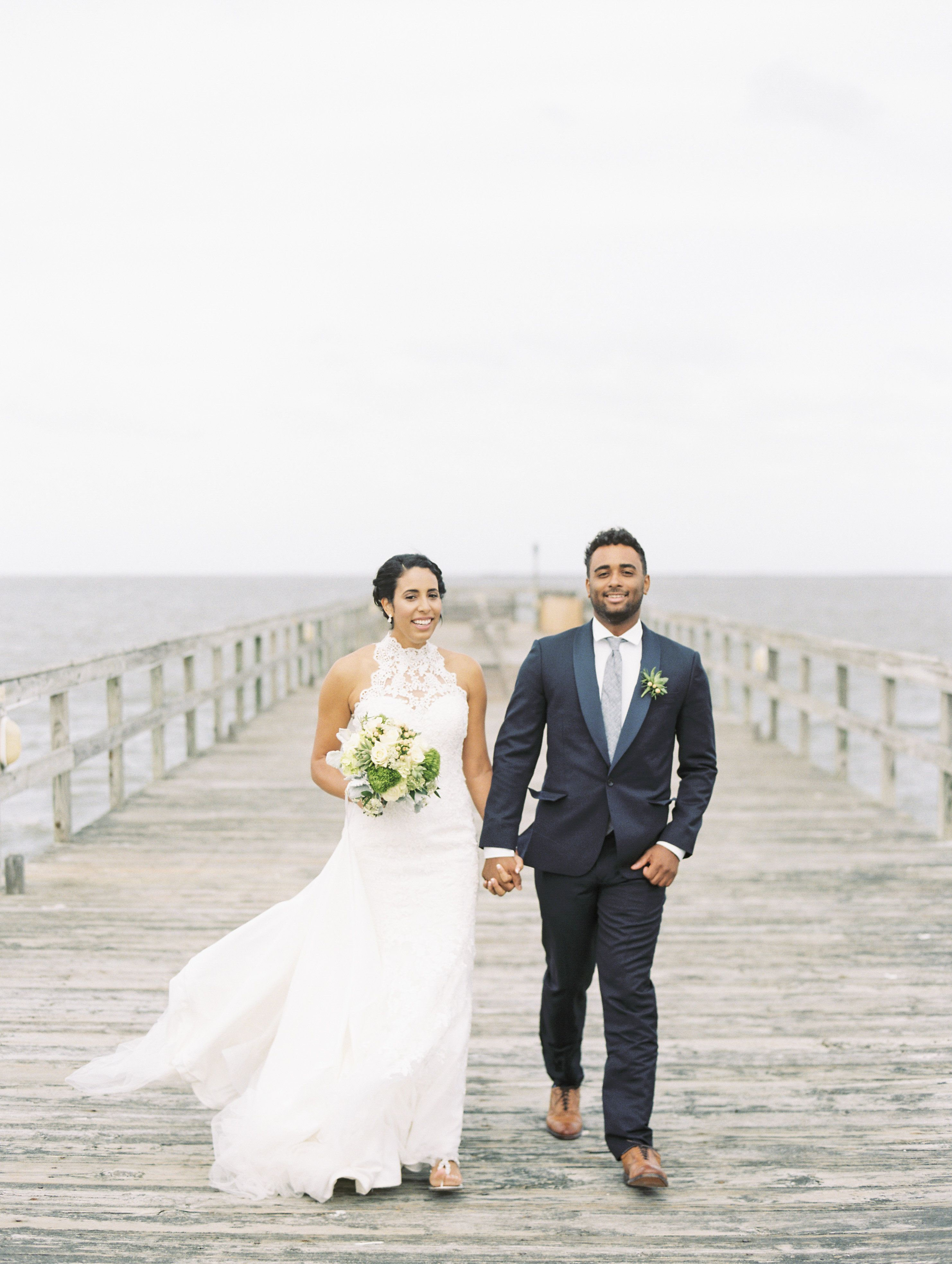 A Rustic Beach Wedding At Lewes Canalfront In Lewes Delaware