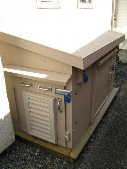 Outdoor Insulated Generator Box Generator House Generator Box Generator Shed