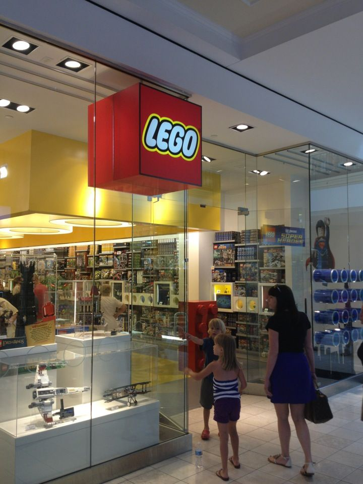 The LEGO Store | RETAIL | Pinterest | Lego store and Store