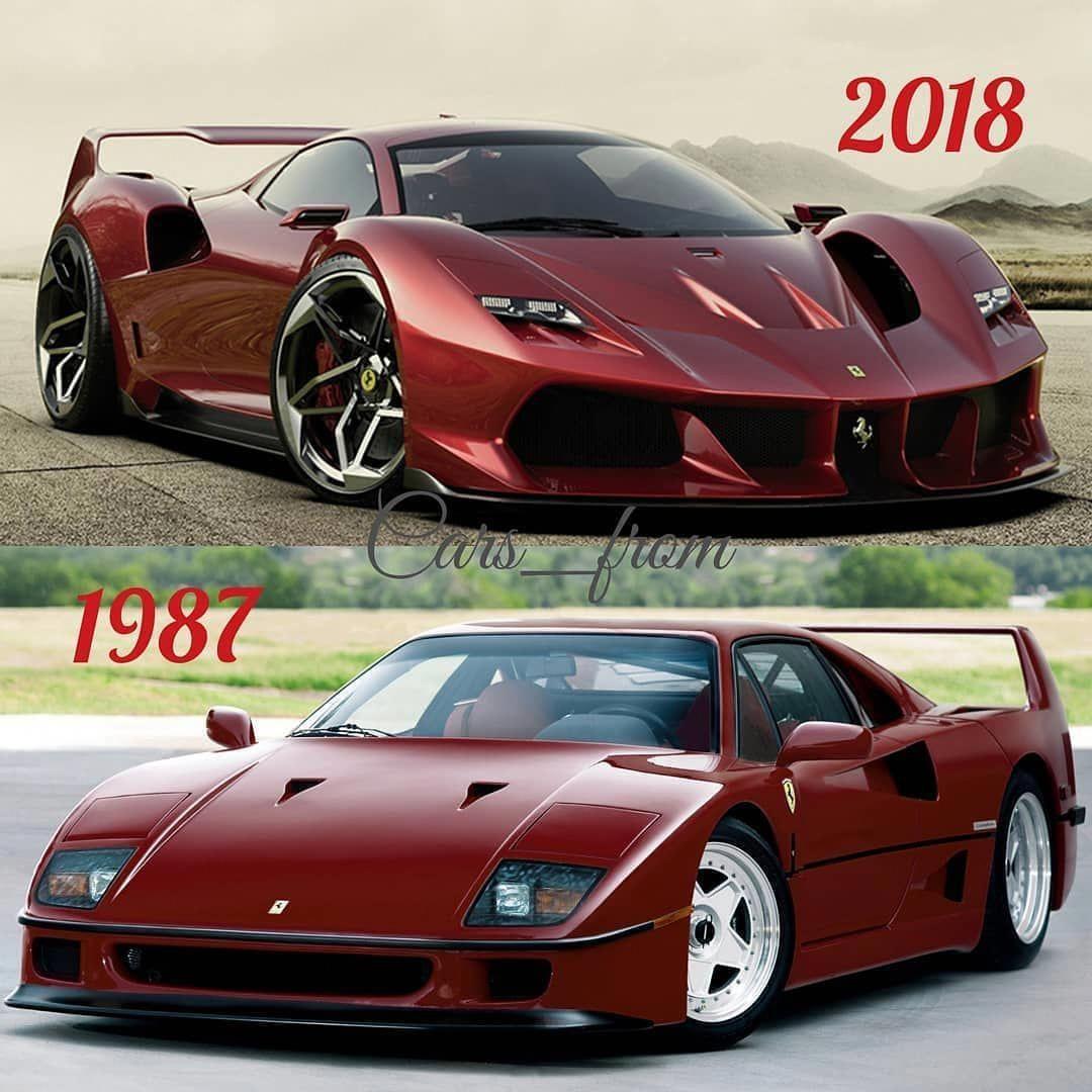 Top Ferrari F40 Tribute Or Bottom Original F40 Pick The