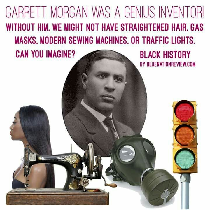 Garrett Morgan | African american history facts, American history facts, Black history facts