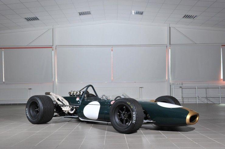 brabham f1 car 740x492 1966 Brabham Repco BT20 Formula 1 Car
