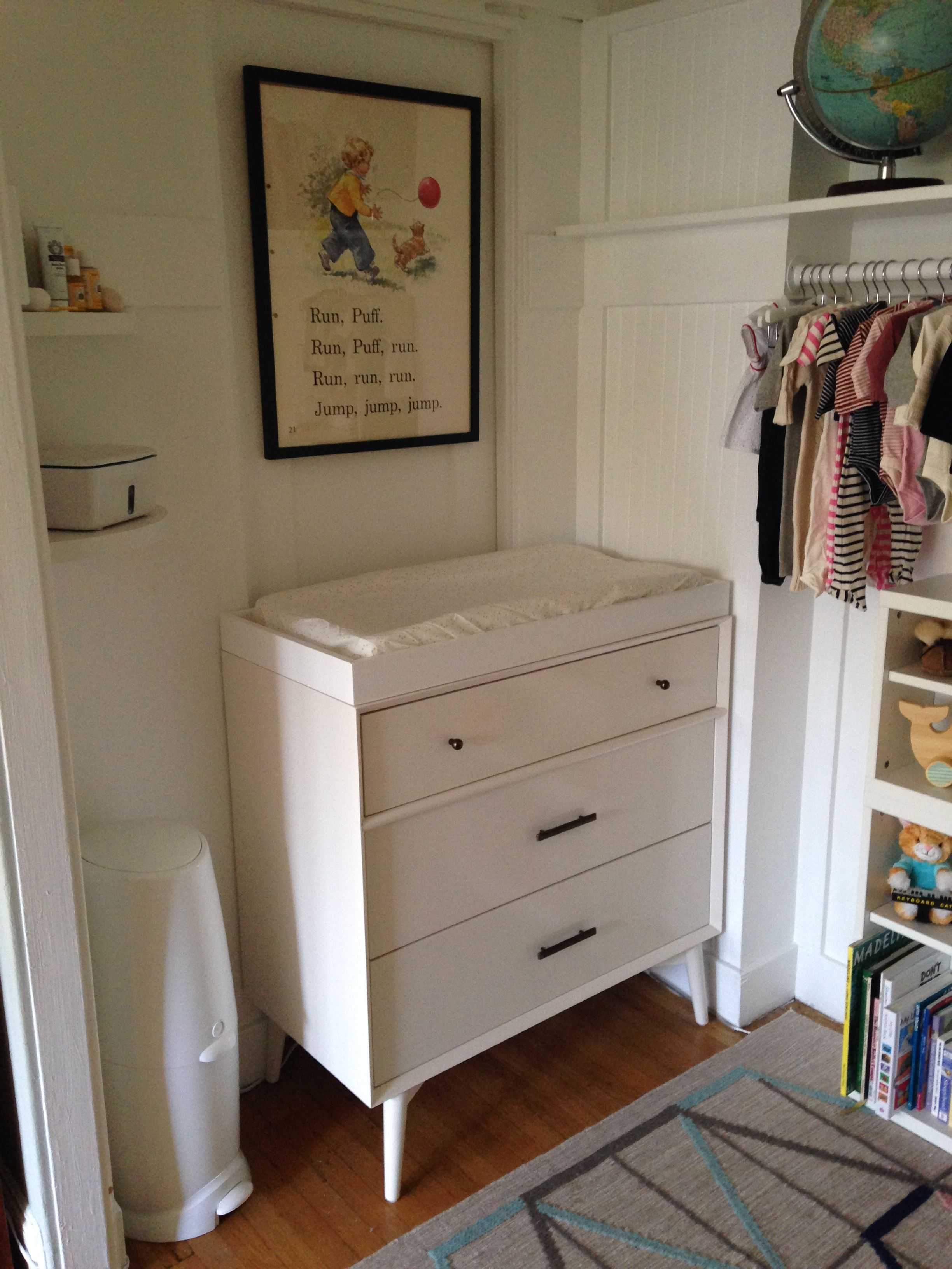 West Elm Dresser As Changing Table