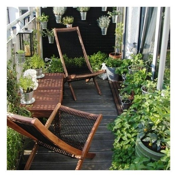 Pinterest / Search results for balcony garden ❤ liked on Polyvore