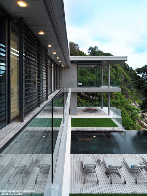 Villa Amanzi Les Plus Beaux Hotels Design Du Monde Villa