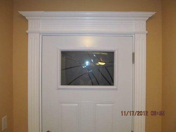 Image Result For Crown Moulding Above Door