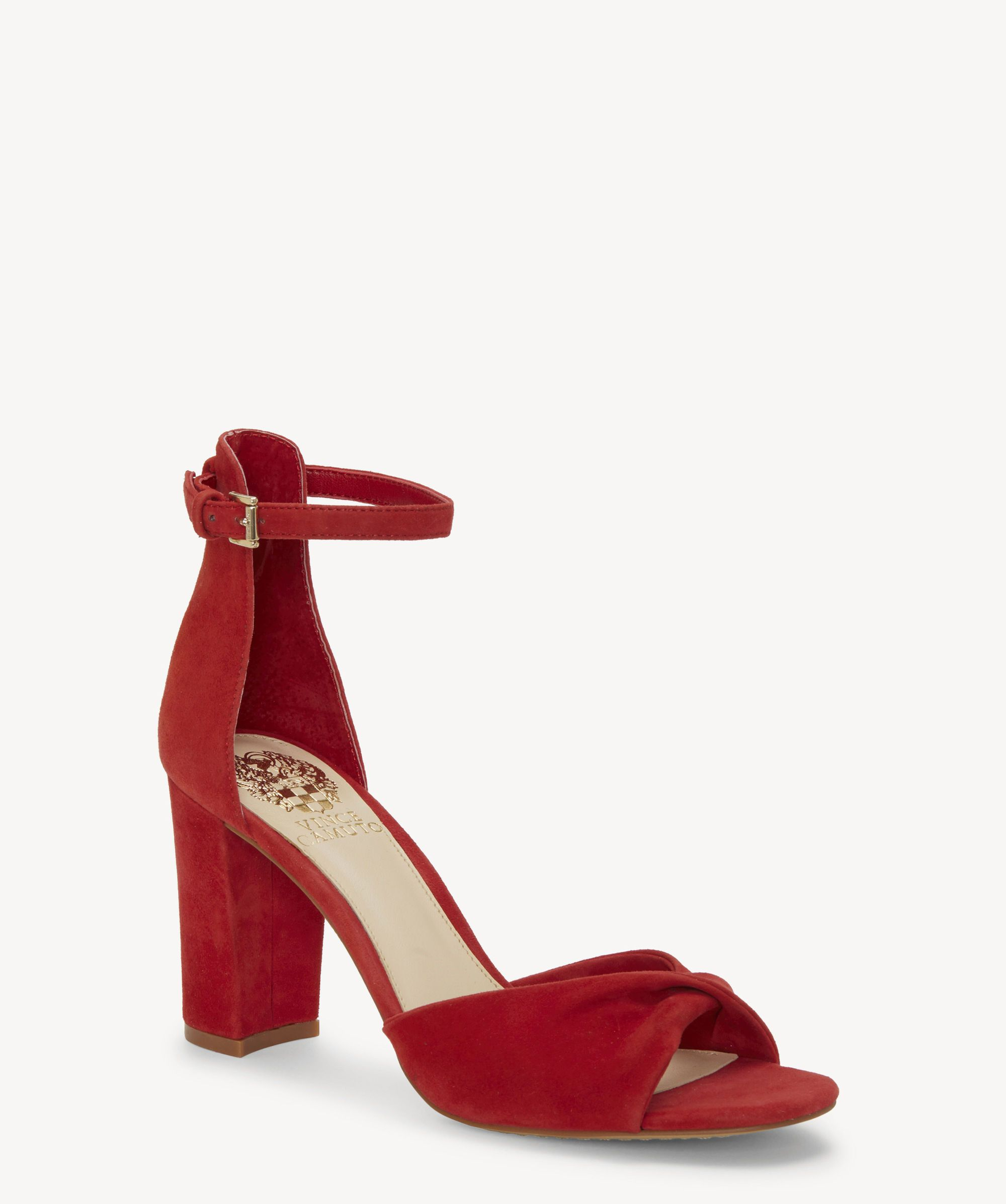c822a457af84 Wesher in 2019 | Wedding | Vince camuto, Sandals, Leather heels