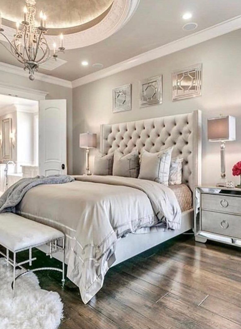 New 33 Awesome Bedroom Design Ideas And Decoration Images For 2019 Page 27 Of 33 Evelyn S World My Dreams My Colors And My Life Glamourous Bedroom Master Bedroom Colors Bedroom Interior