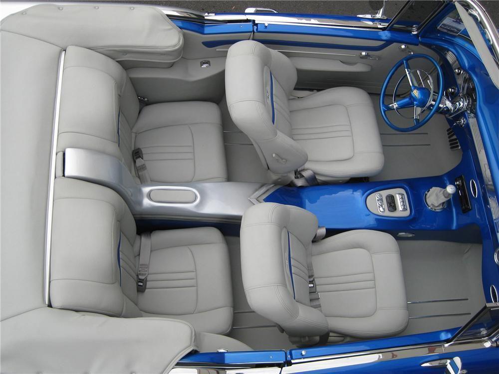 1955 Chevrolet Bel Air Custom Car Interior Chevrolet Bel Air