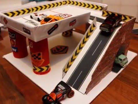 video para confeccionar garage de carton casitas y juguetes pinterest cart n pista y hot. Black Bedroom Furniture Sets. Home Design Ideas