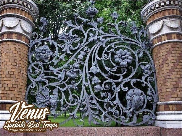 Harga Pagar Besi Tempa Pintu Gerbang Klasik Besi Tempa Jakarta