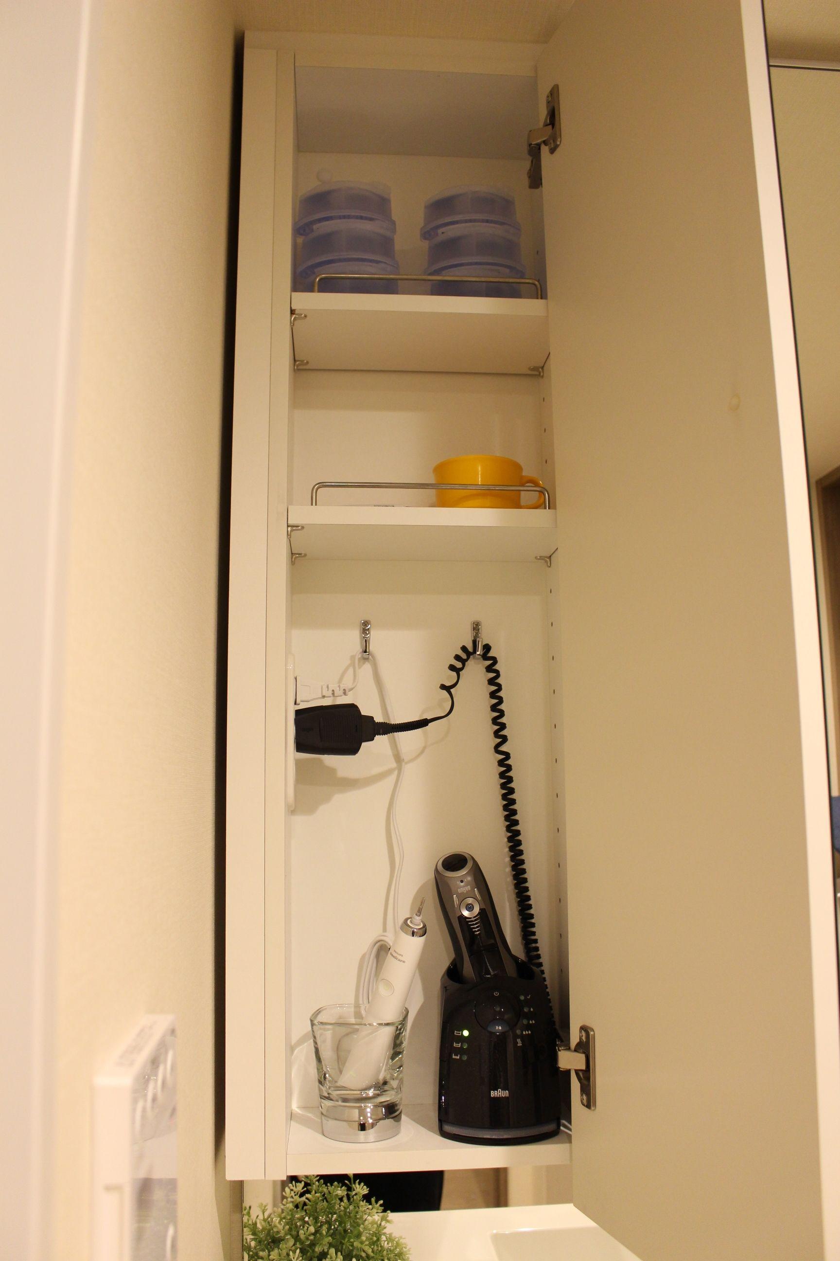 最近の洗面 リネン庫 脱衣室 収納 洗面所 収納 洗面