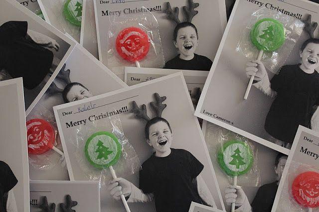 Lollipop Christmas cards We need a little Christmas Pinterest