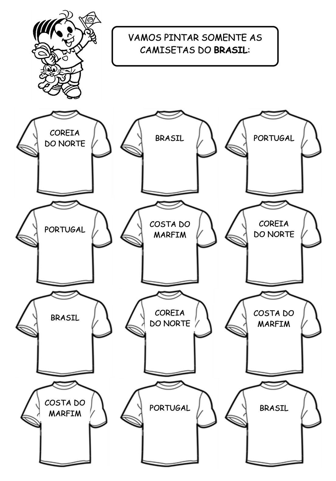 Copa do Mundo - Algumas atividades   artes   Pinterest   Copa, Mundo ...