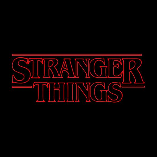 how to draw stranger things logo