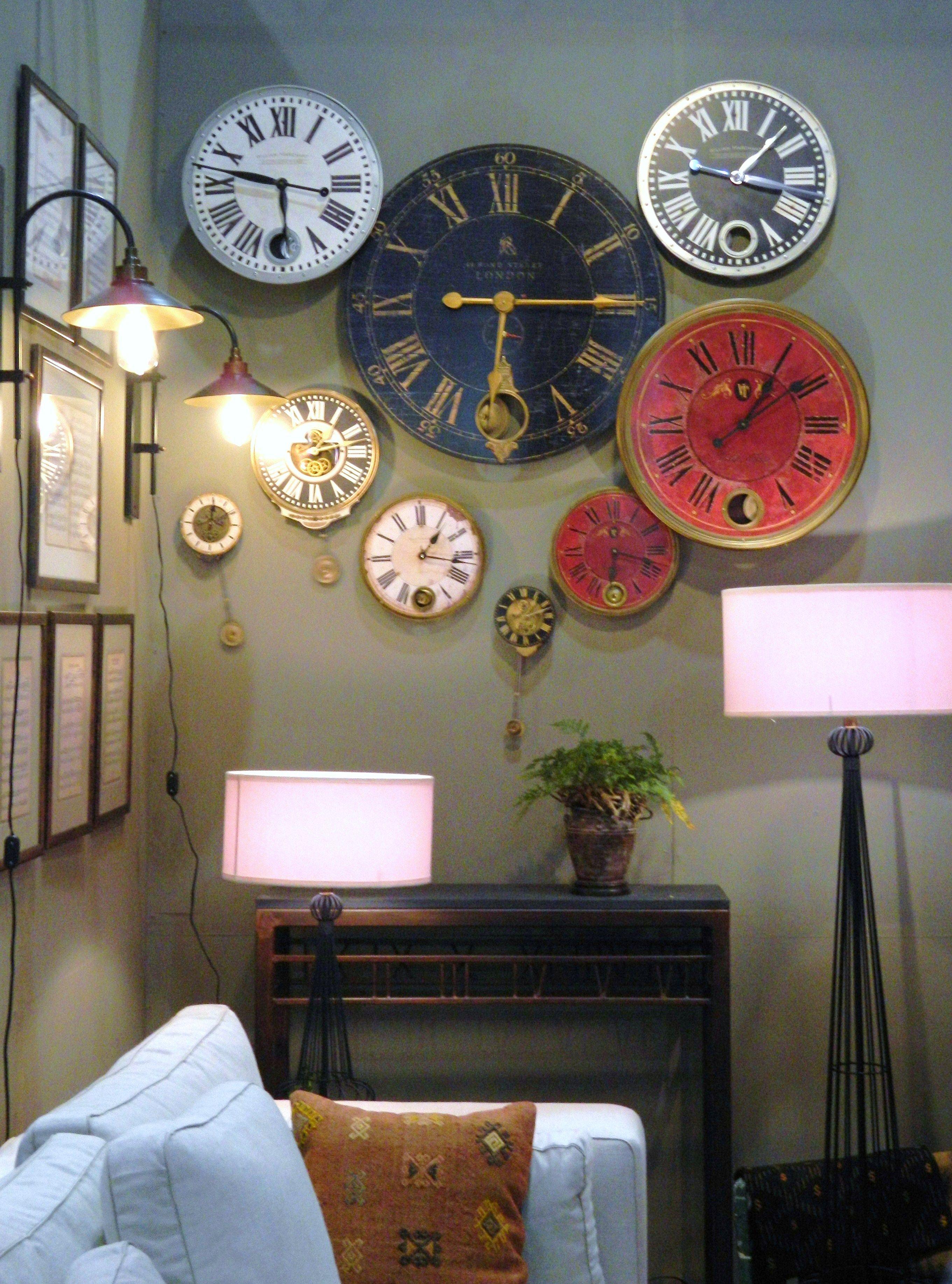 Pin By Carina Elizabeth Rodriguez On Expo Habitat 2012 Wall Clock Clock Wall Decor Home