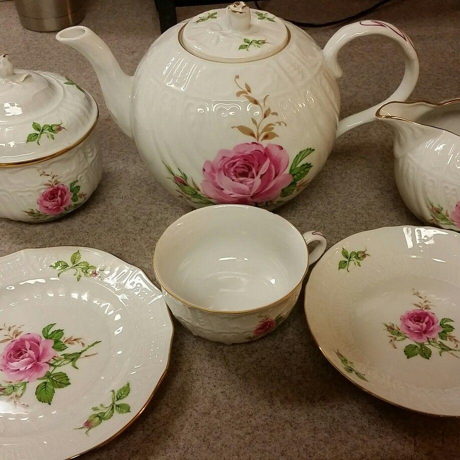 My new vintage tea set