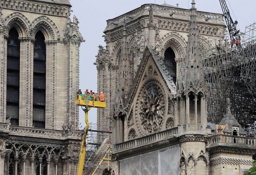 How Much Money Did The Us Donate To Notre Dame