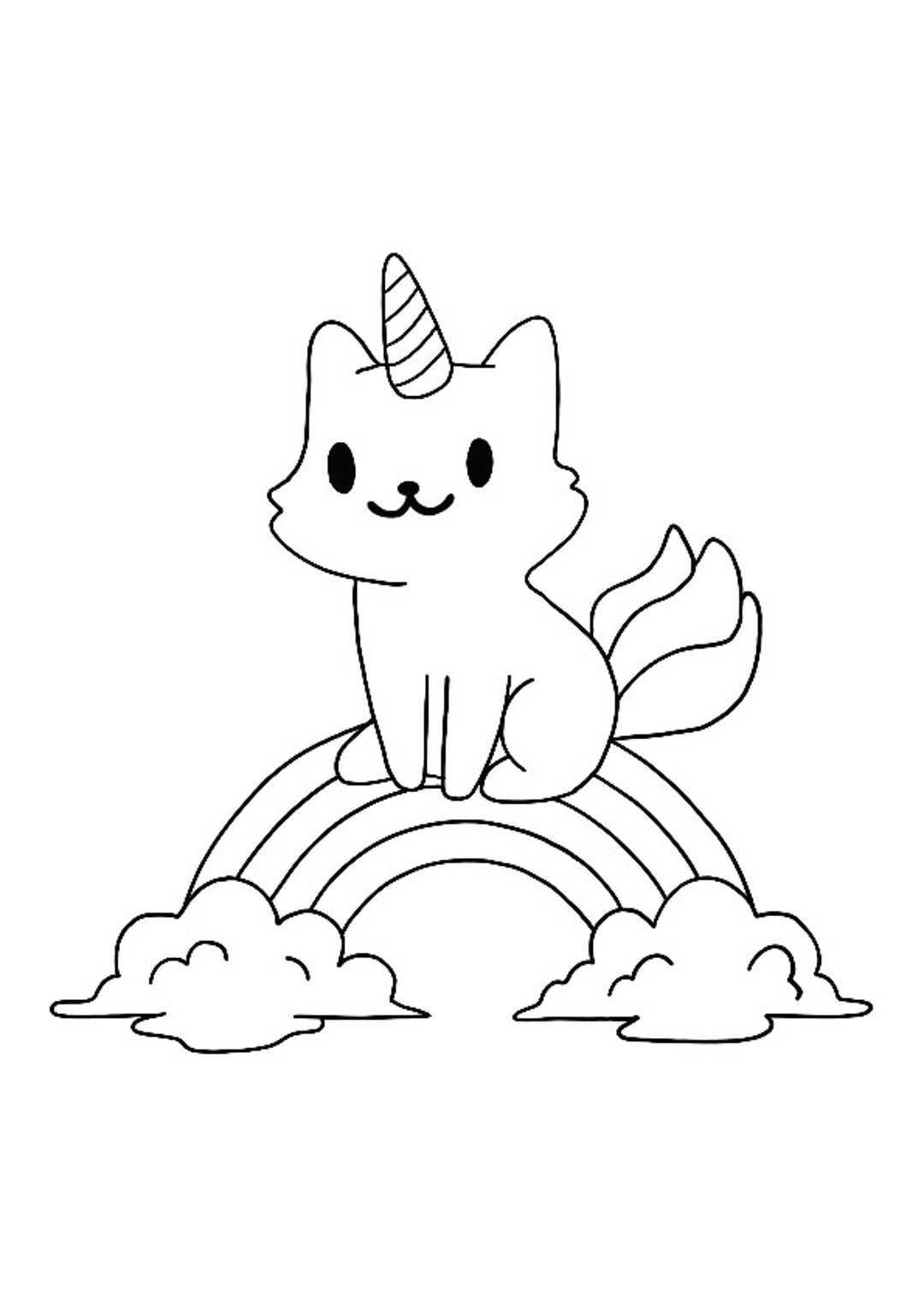 Unicorn Rainbow Coloring Pages Unicorn Coloring Pages Birthday Coloring Pages Free Printable Coloring Sheets