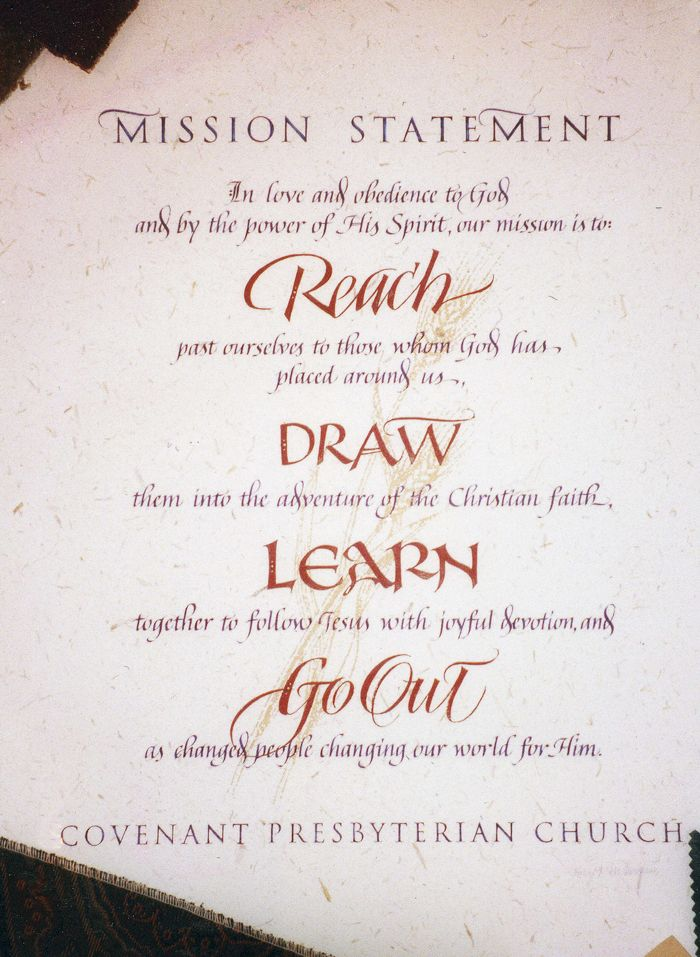 Church Mission Statement Mission Statement Quotes Mission