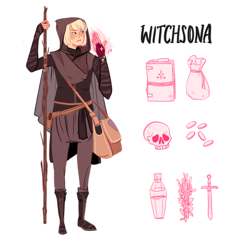 Oh also I don't know if I'm late for this but apparently it's witchsona week?