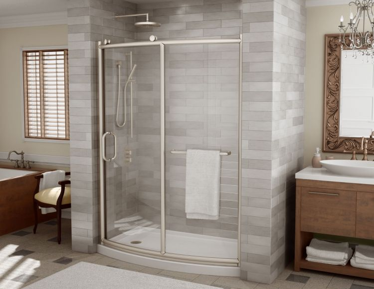 Fleurco Roma Bowfront Curved Door And Panel Shower Doors Http Www
