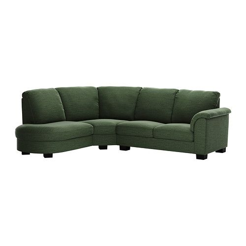 Outstanding Tidafors Corner Sofa With Arm Right Hensta Green Ikea Gmtry Best Dining Table And Chair Ideas Images Gmtryco