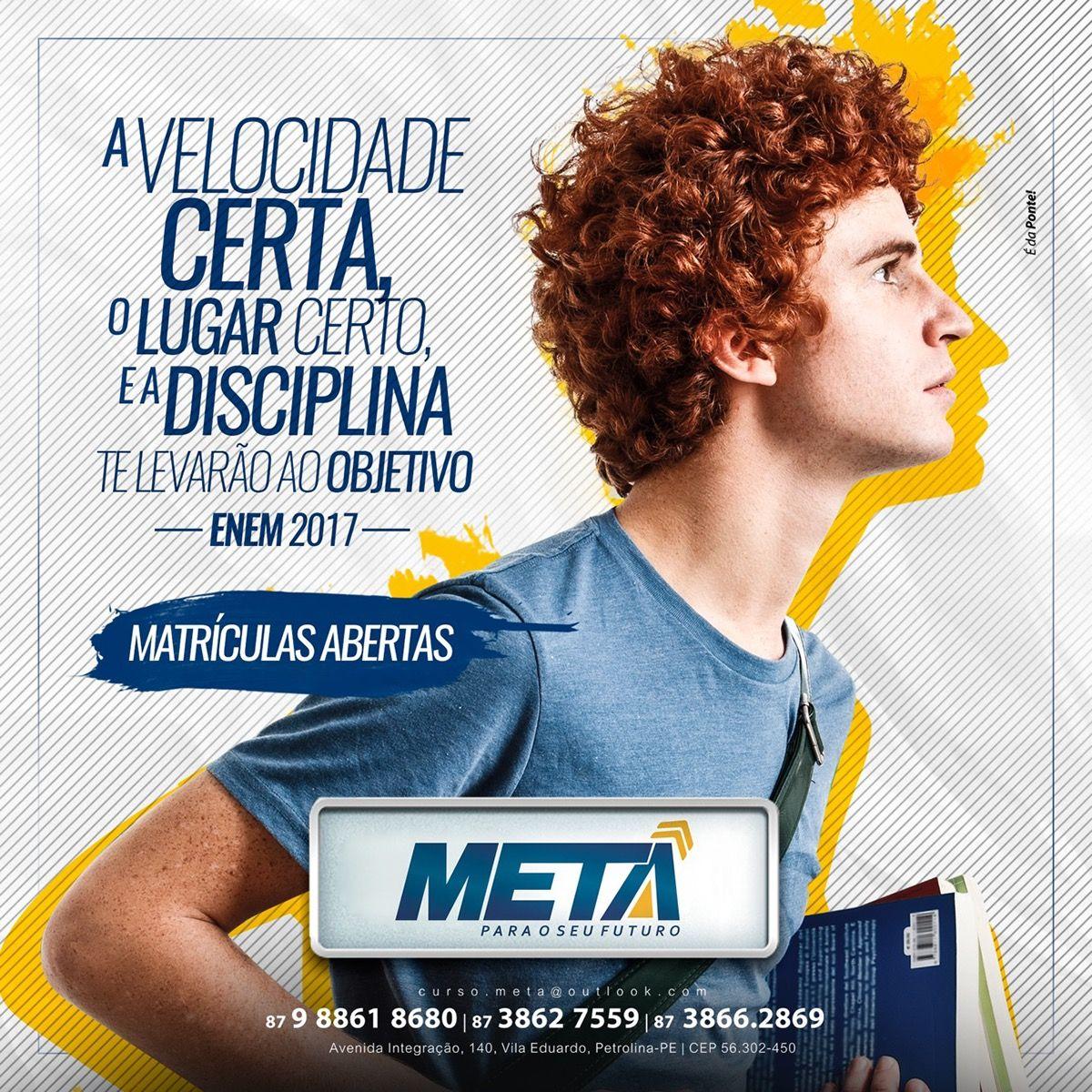 Material De Campanha Concursos Meta On Behance Social Media Design Social Media Design Inspiration Graphic Design Advertising