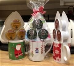 Super Easy Gift For K Cup Lovers Christmas Craft Fair K Cup Crafts Christmas Bazaar Ideas