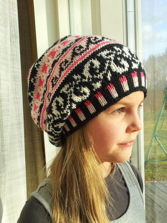 89746d50d01cb Handknit Slouchy hat